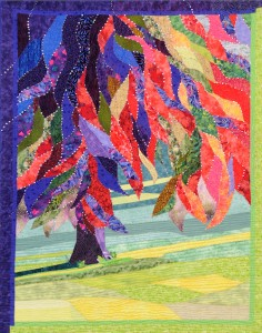 Tribute to a Beautiful Tree Janine Ibbini Abu Dhabi Quilting Guild